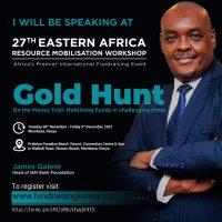 Speaker James Gatere 27th EARMW