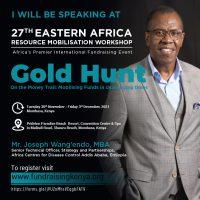 Speaker Joseph Wangendo 27th EARMW
