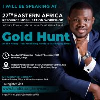 Speaker Somorin Olufunso 27th EARMW